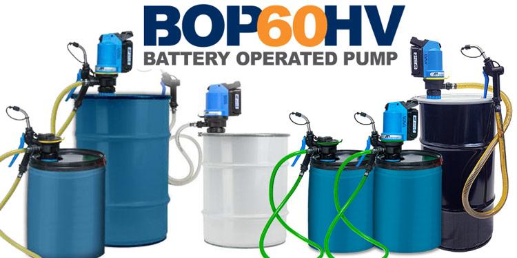 BOP60HV Electric Pump for Drums