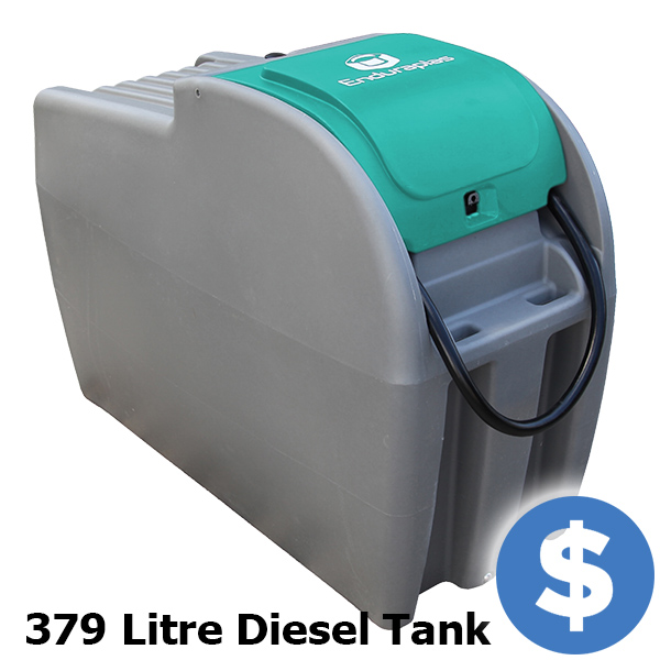Mobile Diesel Storage and Dispense, 379 Litre