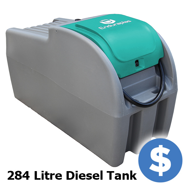 Mobile Diesel Storage and Dispense, 284 Litre