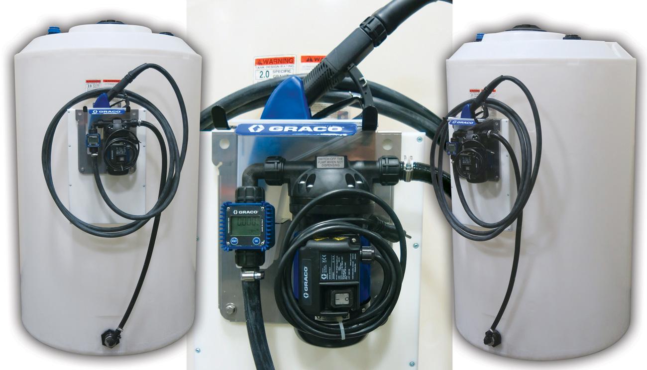 ECO DEF Diesel Exhaust Fluid Tank